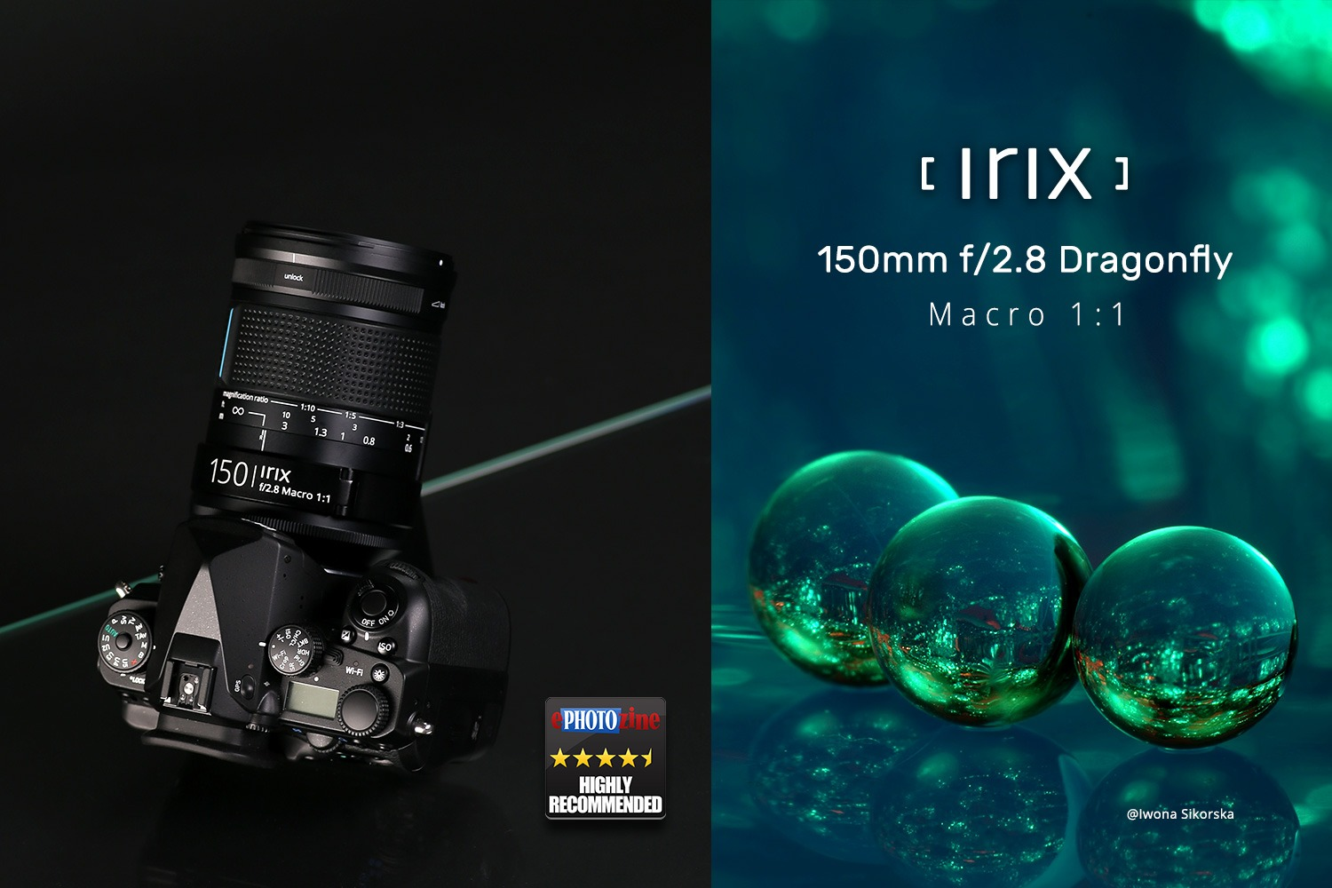 Irix 150mm f / 2.8 Macro 1: 1 – first independent review! - Irix lenses  were designed with both the effort and experience, of not only engineers,  but also photographers. Swiss precision and Korean innovation create