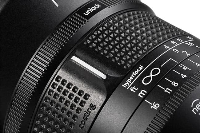 irix lense detail