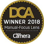manual focus lens winner 2018 DCA CAMERA DIGITAL award